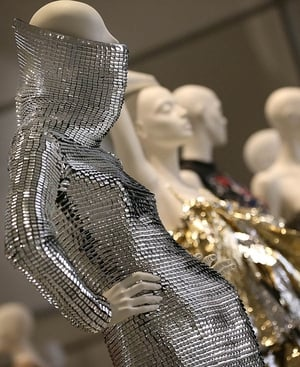 A design by Gareth Pugh within the exhibition