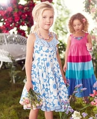 Little princesses' summer style