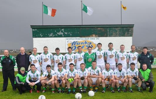 Séamus Ó Cearúil, Danny Ó Curreáin agus Fionnbar Ó Baoill.