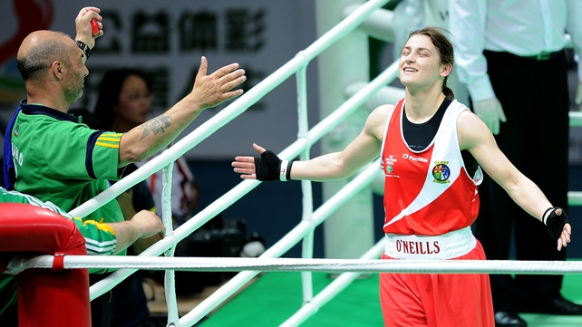 "Katie Taylor: ""For the last couple of years people have been wishing me well for the Olympics and I have had to tell them that I hadn't qualified yet. It's just a big relief to finally qualify and to be going as the current world champion."""