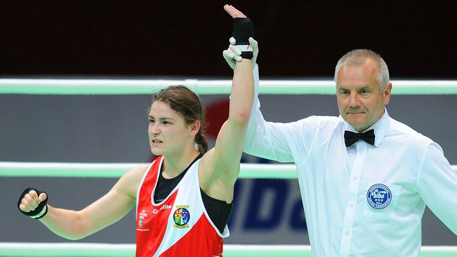 Katie Taylor has become Ireland's bastion of hope for a gold medal in London.