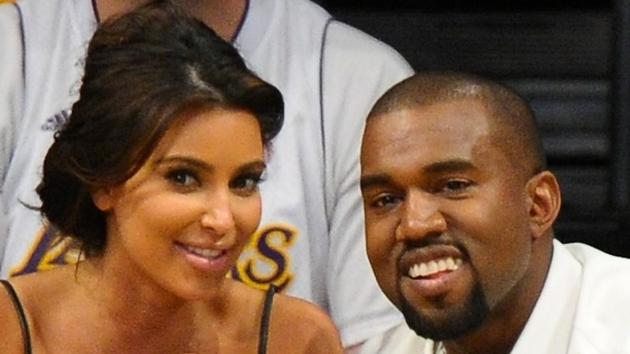 Proud parents Kim Kardashian and Kanye West
