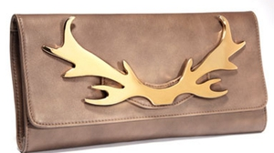 Irish designer Louise O' Leary of Louloubelle Bags created the 'Lou Lou' clutch