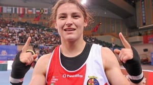 Number One - Katie was also named boxer of the tournament