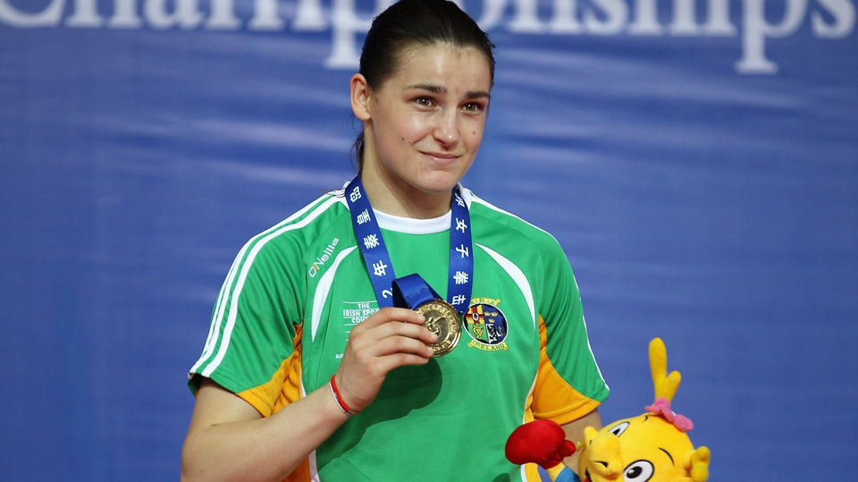 Another gold medal to the collection for Katie - that's 13 major golds now for Bray's finest