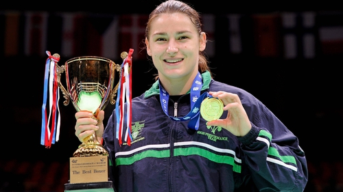 Katie Taylor is hoping to add an Olypic gold medal to her impressive haul