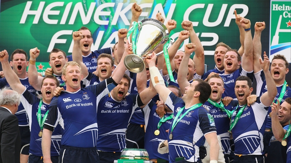 Leinster - Heineken Cup champions for the third time in four seasons