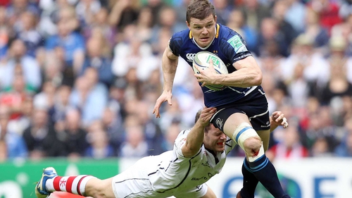 Brian O'Driscoll has revealed that a move to the Super 15 would tempt him