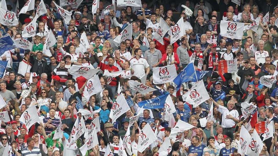 Ulster fans did their best but it just wasn't their day