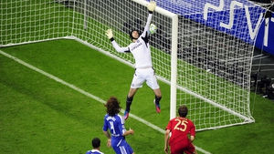 Mueller's header gave the Germans the lead after 83 minutes