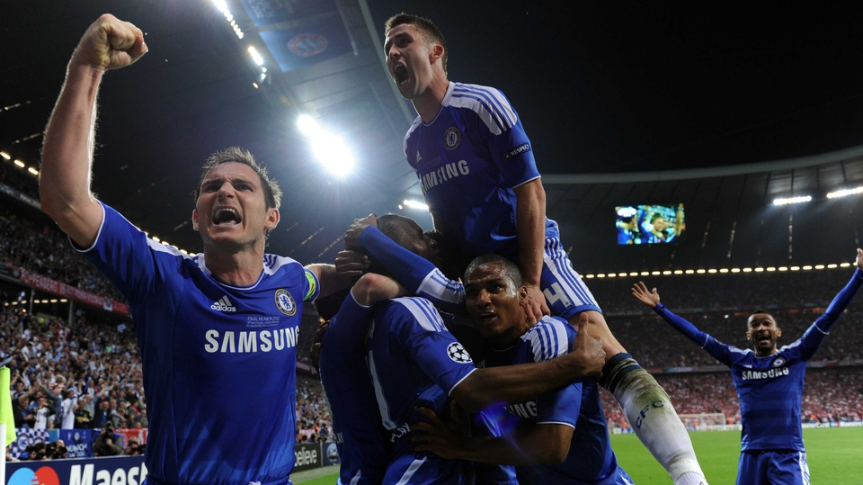 Chelsea's never say die attitude saw them back on level terms five minutes after Bayern scored