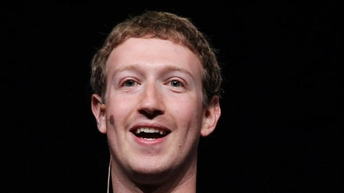 Facebook founder Mark Zuckerberg hailed Monday's figures as a milestone