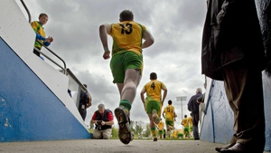 Donegal's defence of their Ulster title began against Cavan