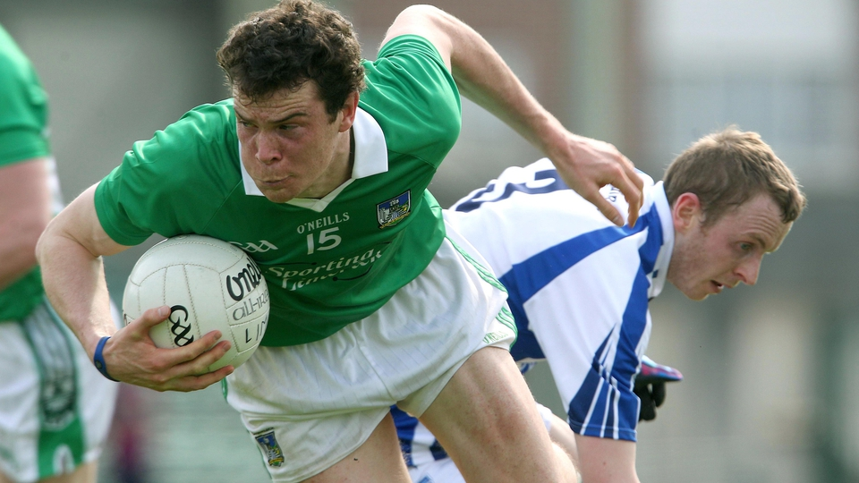 Ian Ryan of Limerick during his team's easy win over Waterford