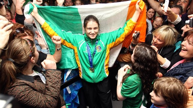 Katie Taylor will carry the Irish flag for the opening ceremony at the London 2012 Olympic Games