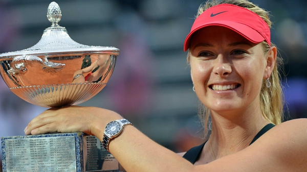 Maria Sharapova - 'This win gives me a lot of confidence. It will be nice to have a week off now'