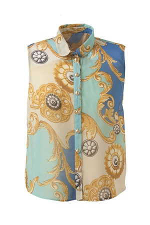 Scarf-print shirt from Penneys, €11