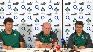 Ireland will face New Zealand for the first time since they were crowned world champions last October