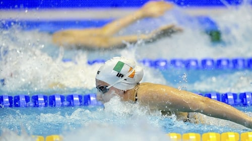The Irish team claimed a respectable sixth place finish at the 4x200m final