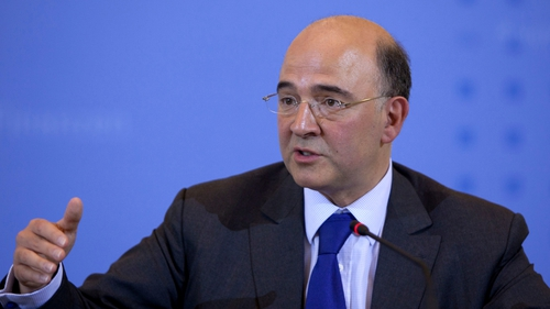 Pierre Moscovici said the EU is aware of Greece's liquidity problems