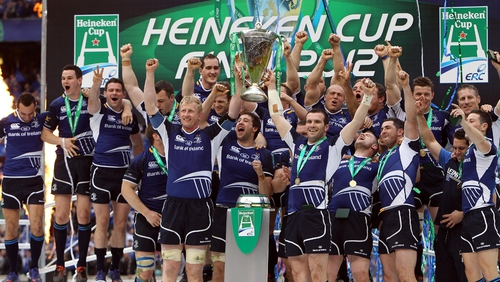 Leinster have won the Heineken Cup three times