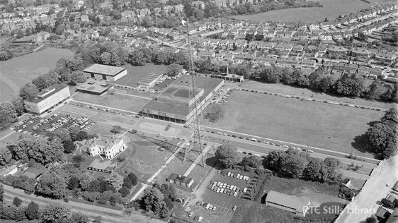 Aerial view of RTÉ complex Donnybrook in 1969. © RTÉ Stills Library 2141/084