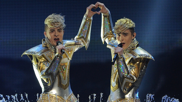 Jedward - Dublin twins were the last act to claim one of the 10 places for the contest on Tuesday night