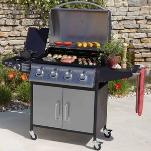 Gas BBQ 4 Grill with 2 sides, Littlewoods Ireland, €349