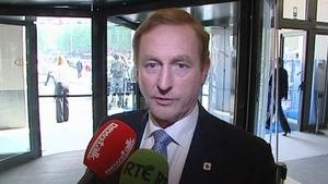 Enda Kenny highlighted the importance of Ireland's 12.5% corporate tax rate
