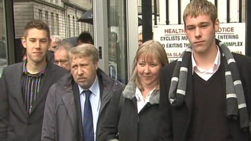 The Richardson family were held at gunpoint as part of a robbery in 2005