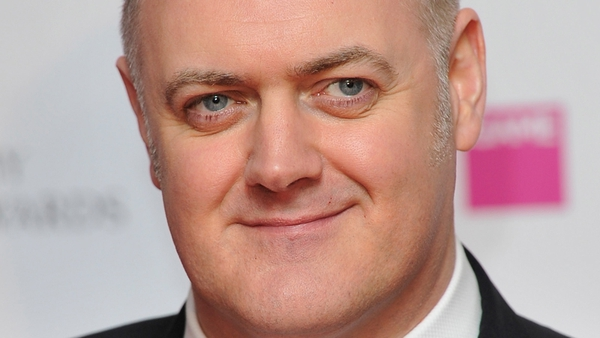 O'Briain taking part in Comic Relief challenge