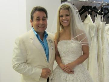 Prog 4: Franc's DIY Brides Franc with bride Gemma Barnes