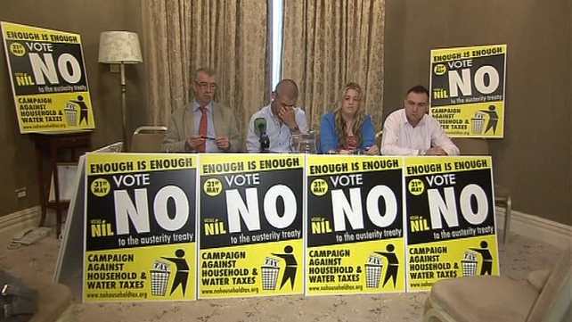 Campaign against Household and Water Charges calls for No vote