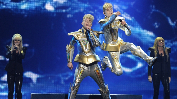 Jedward - Also the subjects of a new observational documentary, Jedward's Eurovision - Take Two, which airs on RTÉ Two on Thursday June 7 at 9.30pm