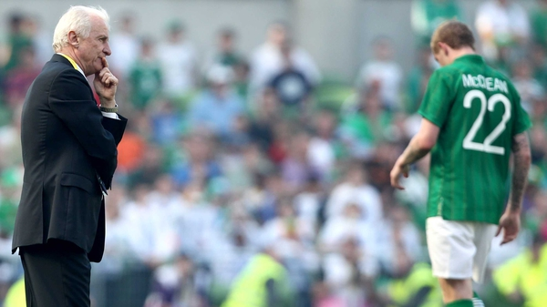 James McClean will not start against Germany, according to Giovanni Trapattoni