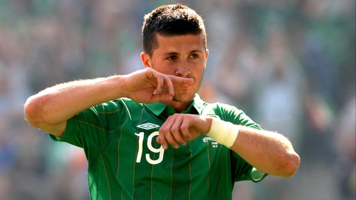 Shane Long spent the entire match on the bench in Belgrade on Wednesday