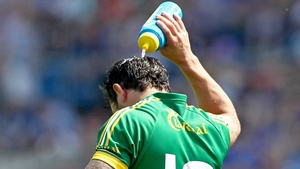 Paul Galvin needed some water to cool down