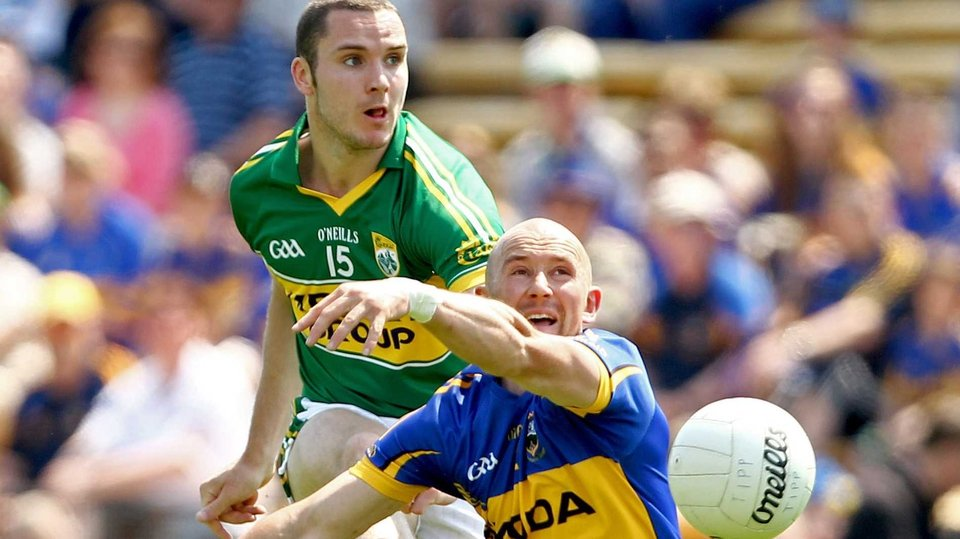 Spot the Ball - Kerry's Patrick Curtin and Andrew Morrissey of Tipperary