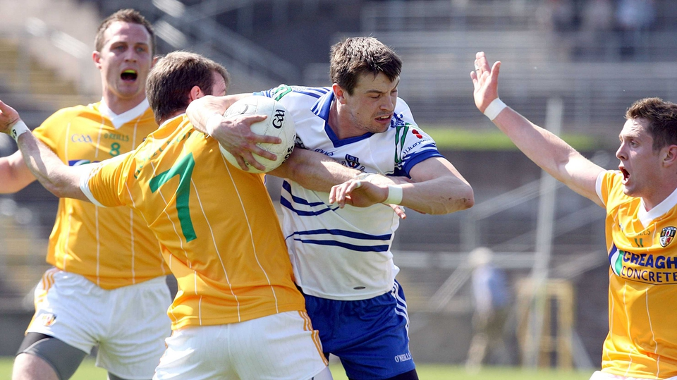 Monaghan were run close by the Saffrons but ran out winners by three points