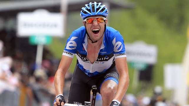 Ryder Hesjedal admits he took a banned substance ten years ago
