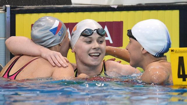 Sycerika McMahon came agonisingly close to grabbing gold in Hungary