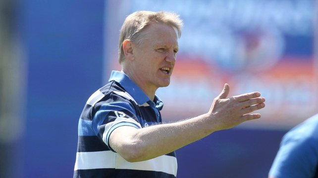 Joe Schmidt is not looking beyond the group stages yet