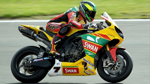Northern Ireland's Michael Laverty became the seventh different race winner of the British Superbikes season at Snetterton