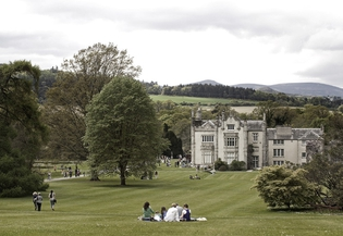Picturesque Kilruddery House and Gardens, Co. Wicklow