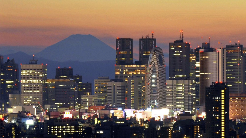 Police arrested the 36-year-old man in another part of Tokyo (Stock image)