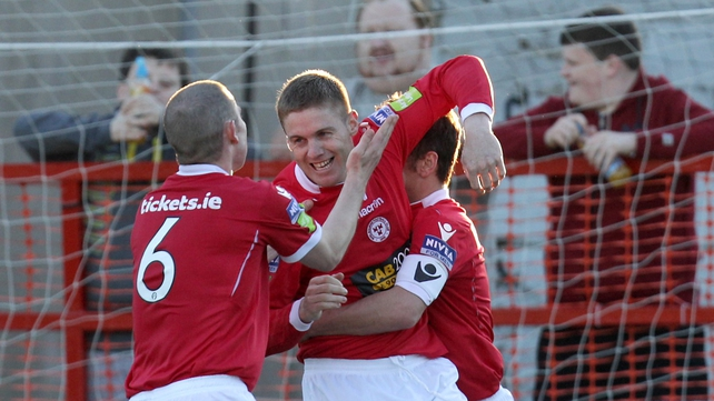 Philly Gorman struck the only goal of the game at Tolka Park