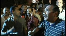 Protests in Egypt over poll results