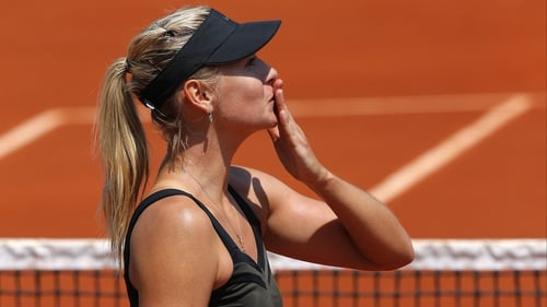 Maria Sharapova made a perfect start to her French Open bid