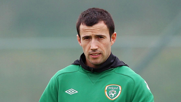 Keith Fahey has won 16 caps for Ireland