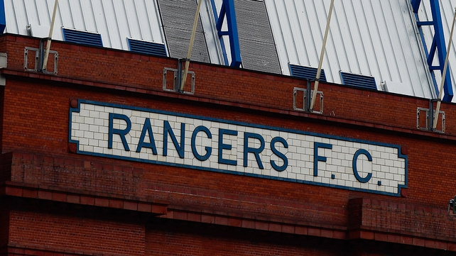 The Scottish Football League could be willing to accept Rangers into the Irn-Bru First Division